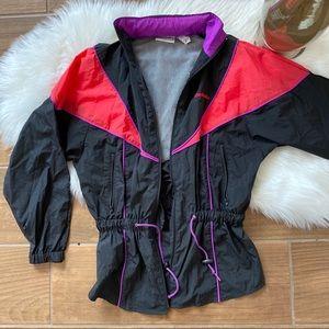Reebok Vtg Lightweight Rain Windbreaker Jacket